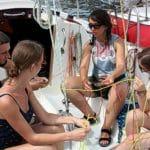 szkolenie żeglarskie - węzły